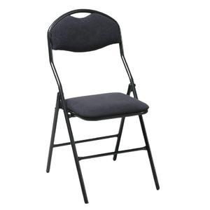 Chaise velours noire Image
